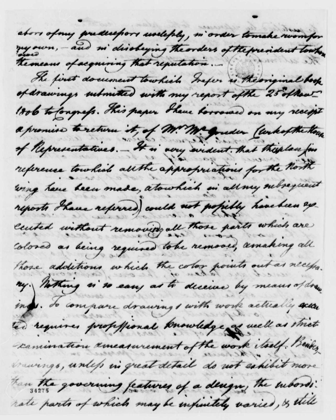 Benjamin H. Latrobe to Thomas Jefferson, April 5, 1811