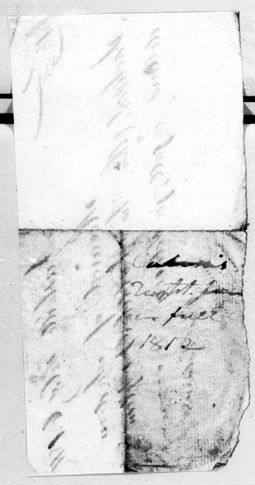 Charles Cabaniss to Andrew Jackson, February 6, 1811