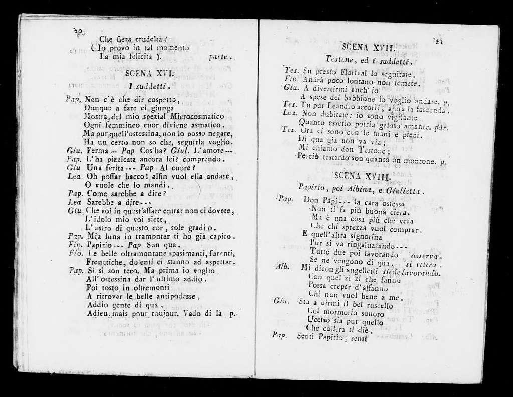 Don Papirio, ossia, La donna di più caratteri opera buffa in musica : da rappresentarsi nel teatro Filarmonico di Verona la primavera dell'anno 1811