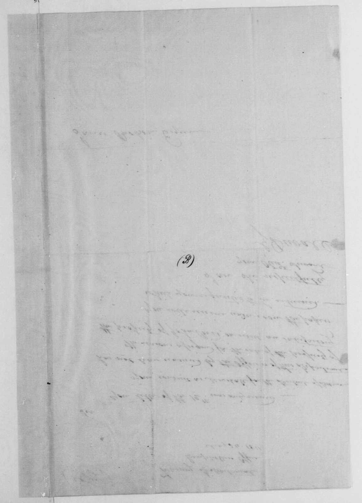Gabriel Duvall to James Brobson, May 24, 1811.