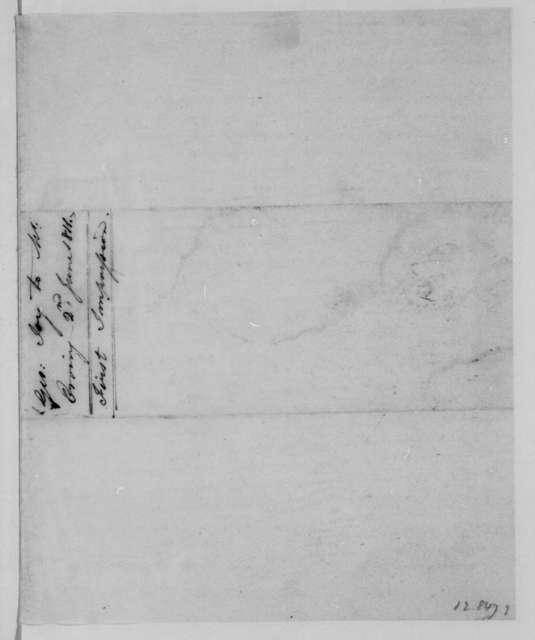 George Joy to George W. Erving, June 2, 1811.