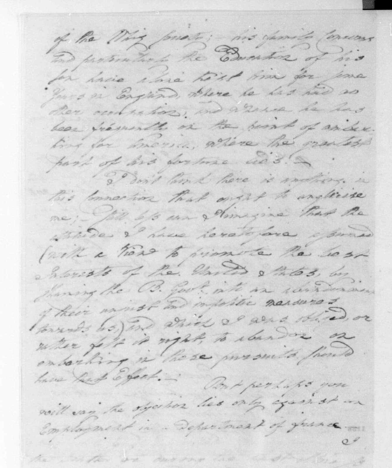 George Joy to James Madison, June 9, 1811.