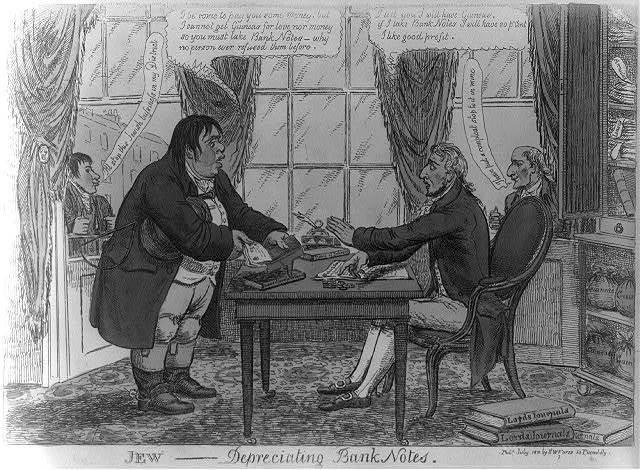 Jew---[king] depreciating bank notes / [Williams].