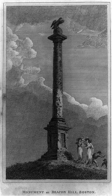 Monument on Beacon Hill, Boston / Sully, del. ; K. Turner, sc.