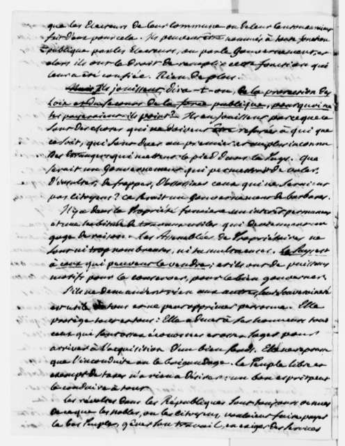 Pierre S. Dupont de Nemours to Thomas Jefferson, December 12, 1811, in French