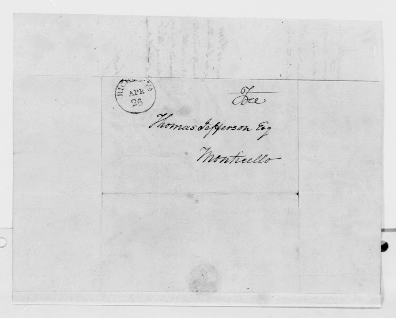 William Robertson to Thomas Jefferson, January 30, 1811