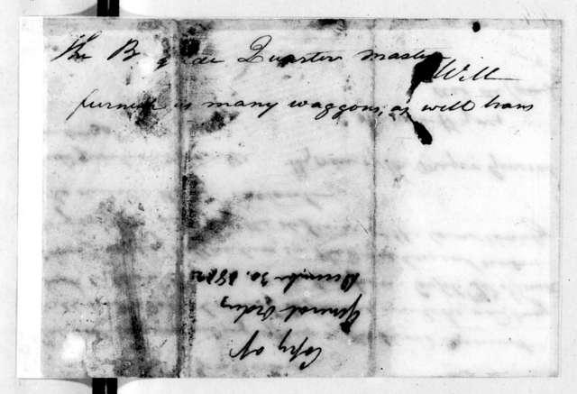 Andrew Hynes, December 30, 1812