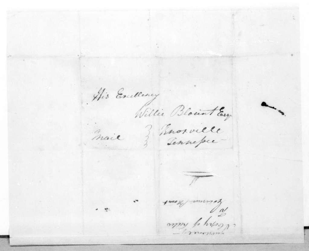 Andrew Jackson to Willie Blount, June 4, 1812