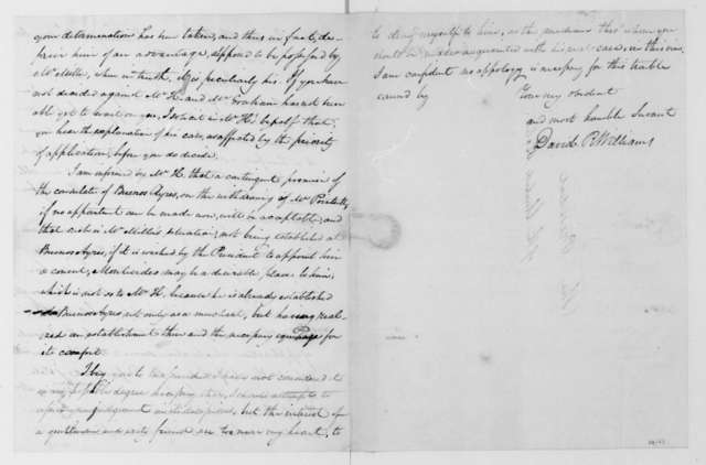 David R. Williams to James Madison, June 12, 1812.