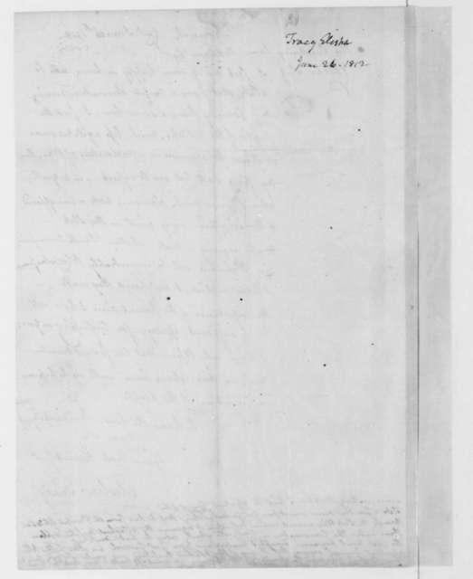 Elisha Tracy to James Madison, June 26, 1812.