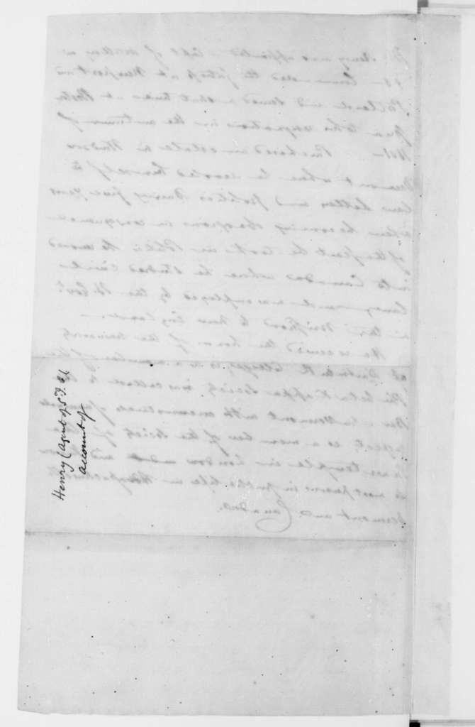 Henry. Biographical Sketch. 1812.
