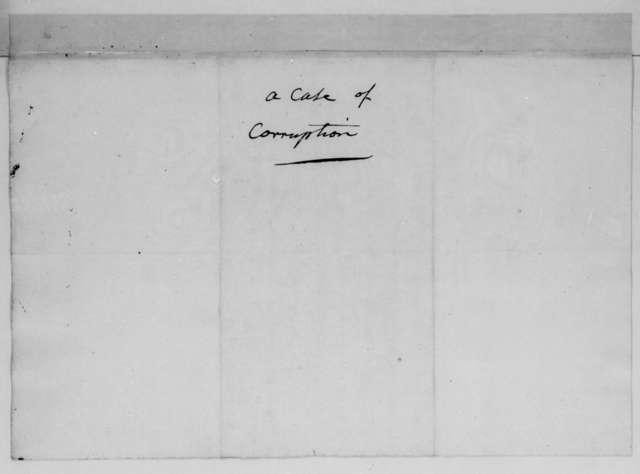 Joel Barlow to James Monroe, April 15, 1812.