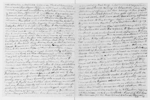 Marinus Willett to James Madison, December 16, 1812.
