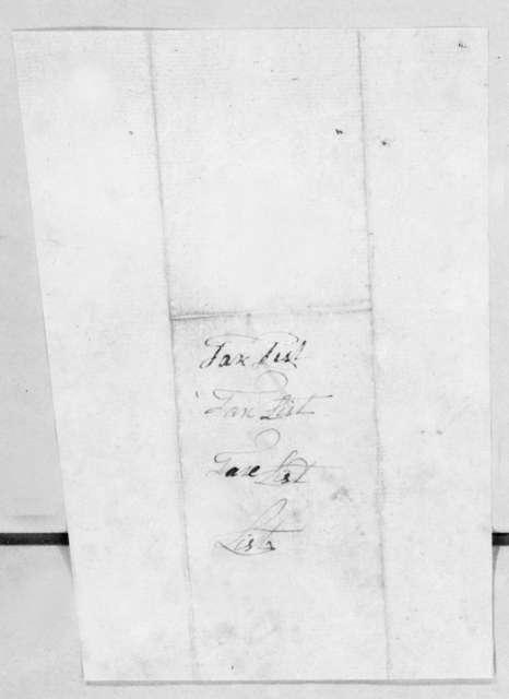 Severn Donelson & Robert Hays, January 10, 1812