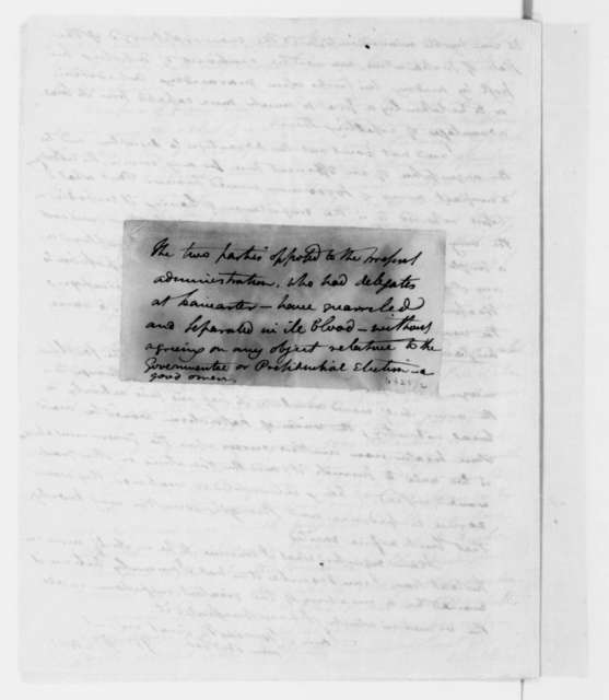 William Duane to James Madison, September 20, 1812.