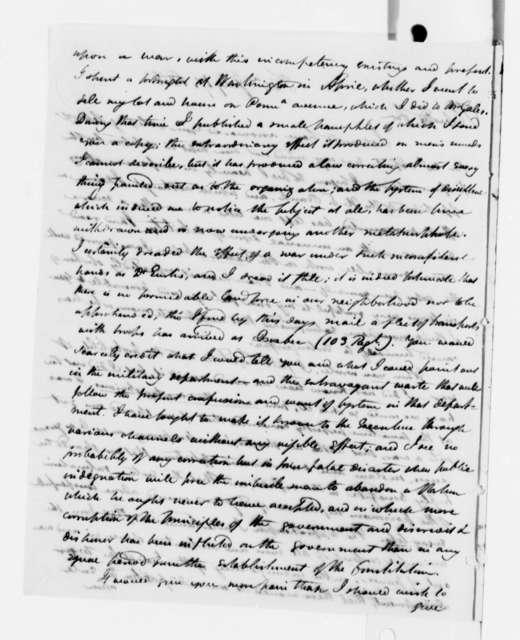 William Duane to Thomas Jefferson, July 17, 1812