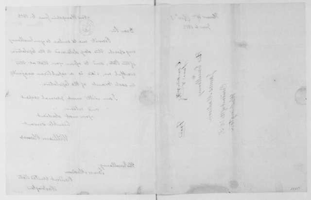 William Plumer to James Madison, June 6, 1812.