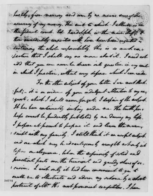 William Wirt to Thomas Jefferson, April 15, 1812