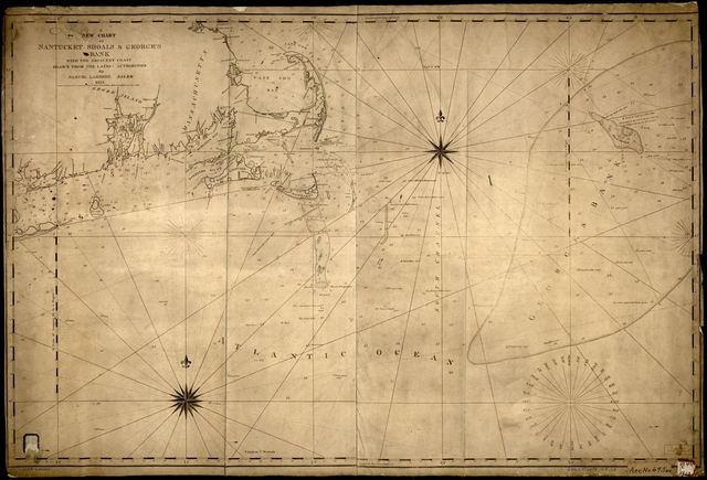 A new chart of Nantucket Shoals & George's Bank with the adjacent coast /