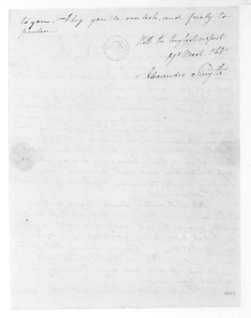 Alexander Smyth to James Madison, December 15, 1813.
