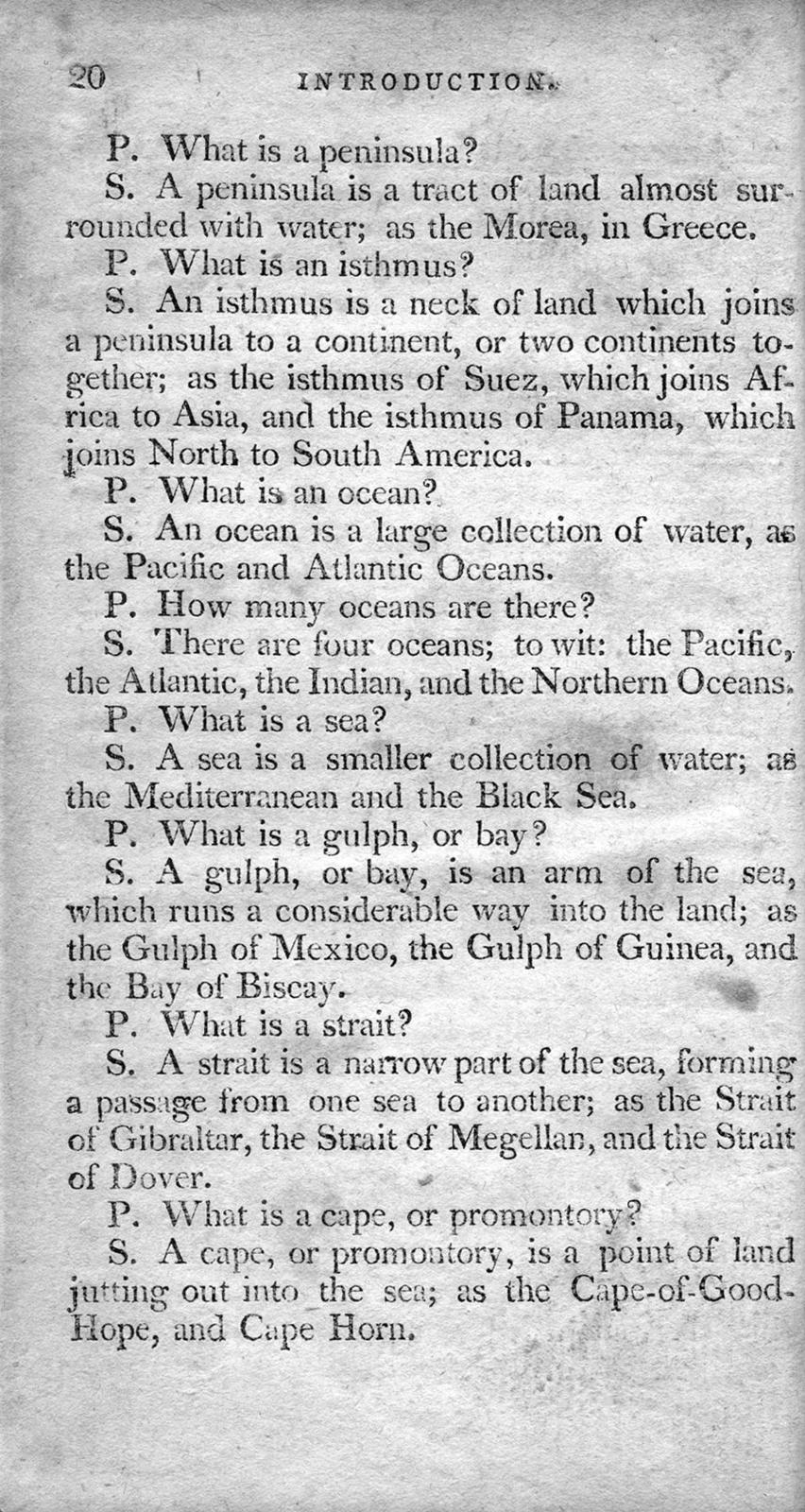 An easy system of the geography of the world : by way of question and answer