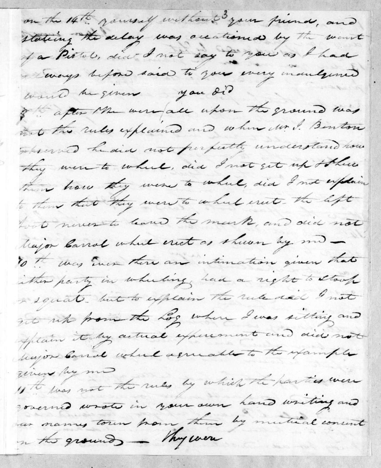 Andrew Jackson to John Armstrong, August 9, 1813
