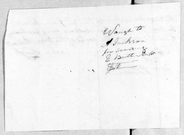 Andrew Jackson to John Waugh, June 22, 1813