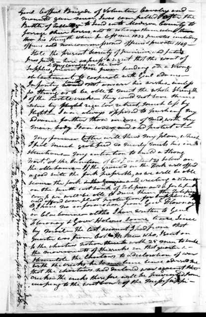 Andrew Jackson to Thomas Pinkney, December 10, 1813