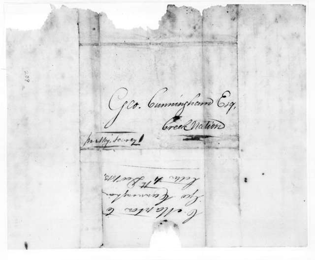 C. Manton to George Cunningham, December 4, 1813
