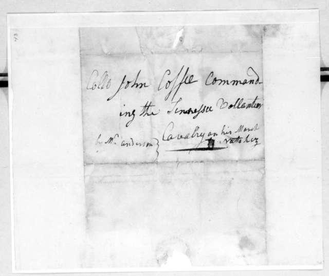 David Smith to John Coffee, February 9, 1813