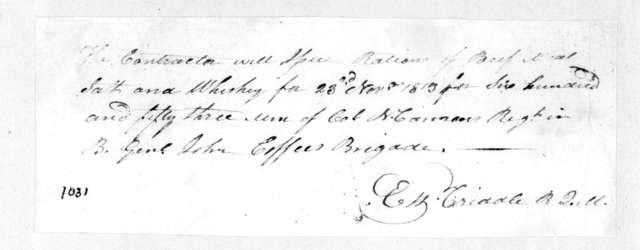 E. W. Criddle, November 23, 1813