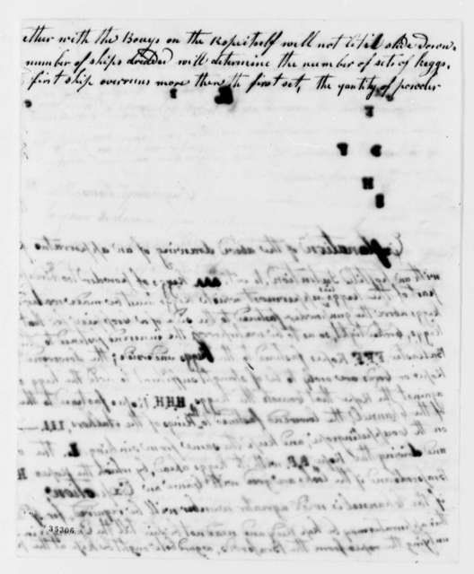 Englehart Cruse to Thomas Jefferson, July 3, 1813, with Description and Drawing