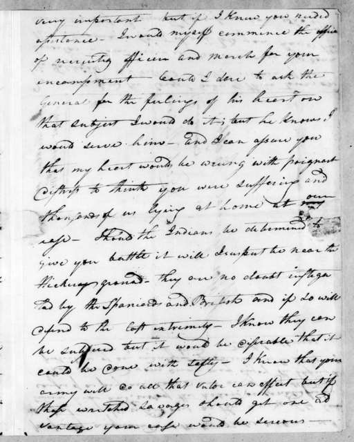 Gideon Blackburn to Andrew Jackson, November 20, 1813