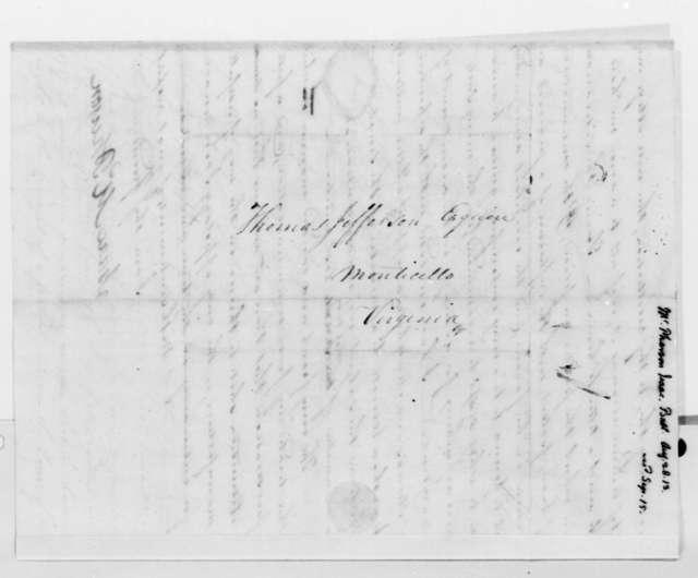 Isaac McPherson to Thomas Jefferson, August 28, 1813