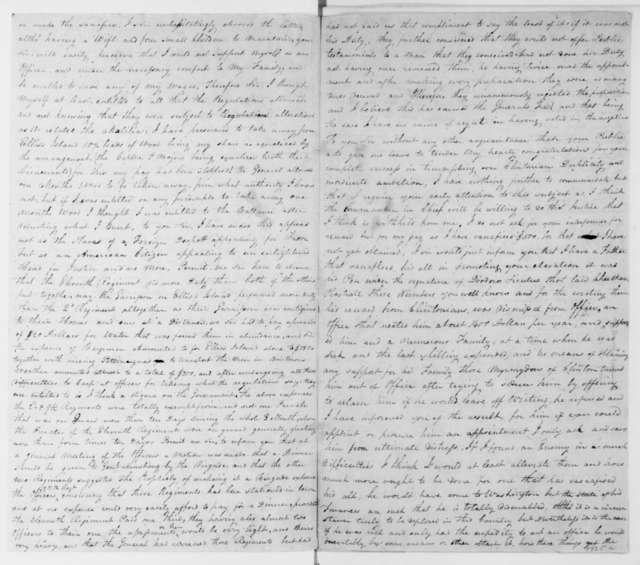 J. Humbert to James Madison, January 22, 1813.