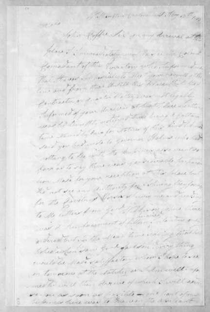 James Henderson to John Coffee, February 13, 1813