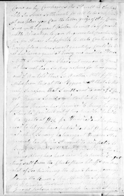 James Henderson to John Coffee, January 22, 1813