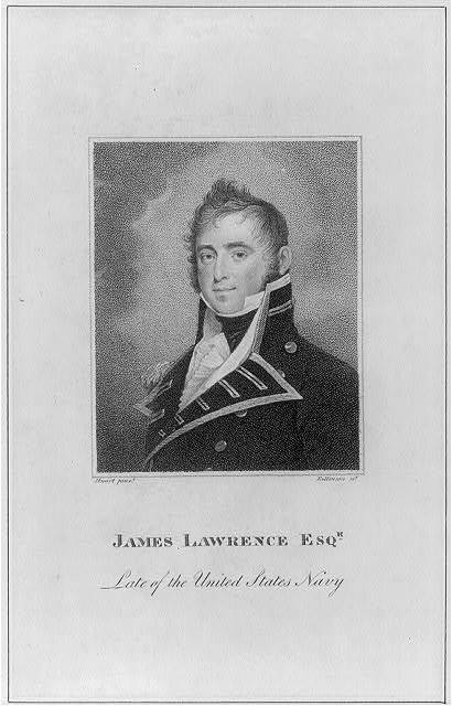 James Lawrence Esqr. late of the United States Navy / Stuart pinxt ; Rollinson sct.