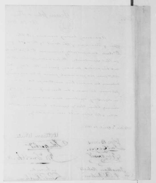 John Binns to James Madison, April 20, 1813.