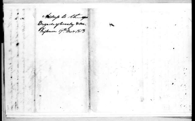 John Coffee, December 17, 1813
