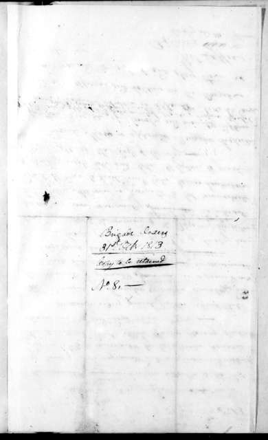 John Coffee, October 31, 1813