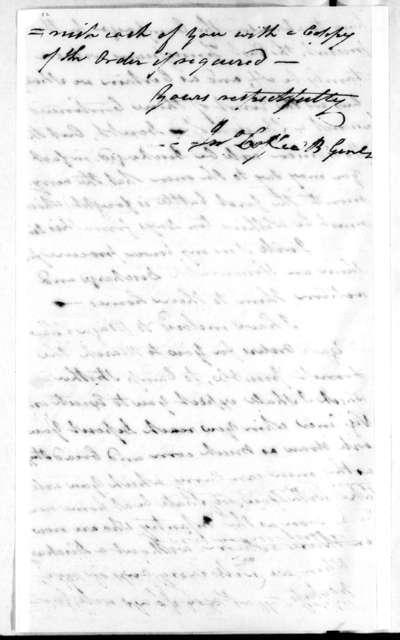 John Coffee to John Allcorn and Robert Allen, December 17, 1813