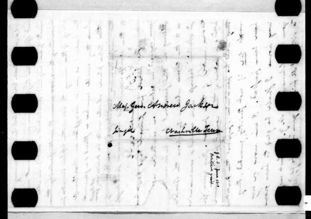 John Freeman Shermerhorn to Andrew Jackson, June 18, 1813