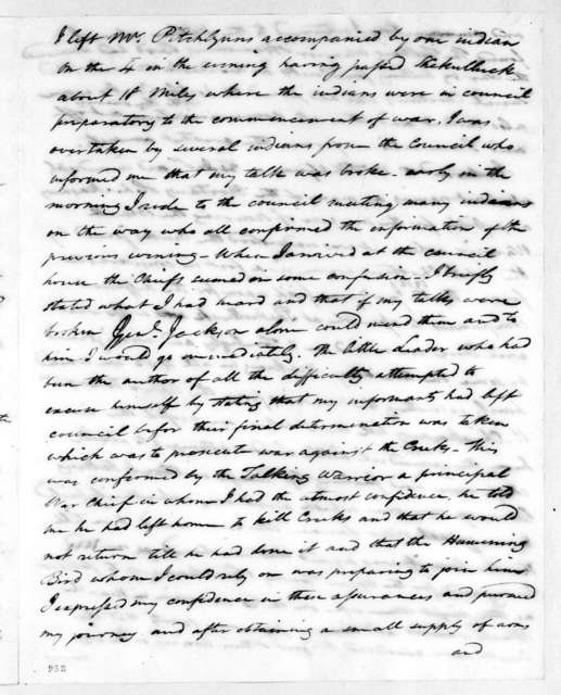 John McKee, September 28, 1813