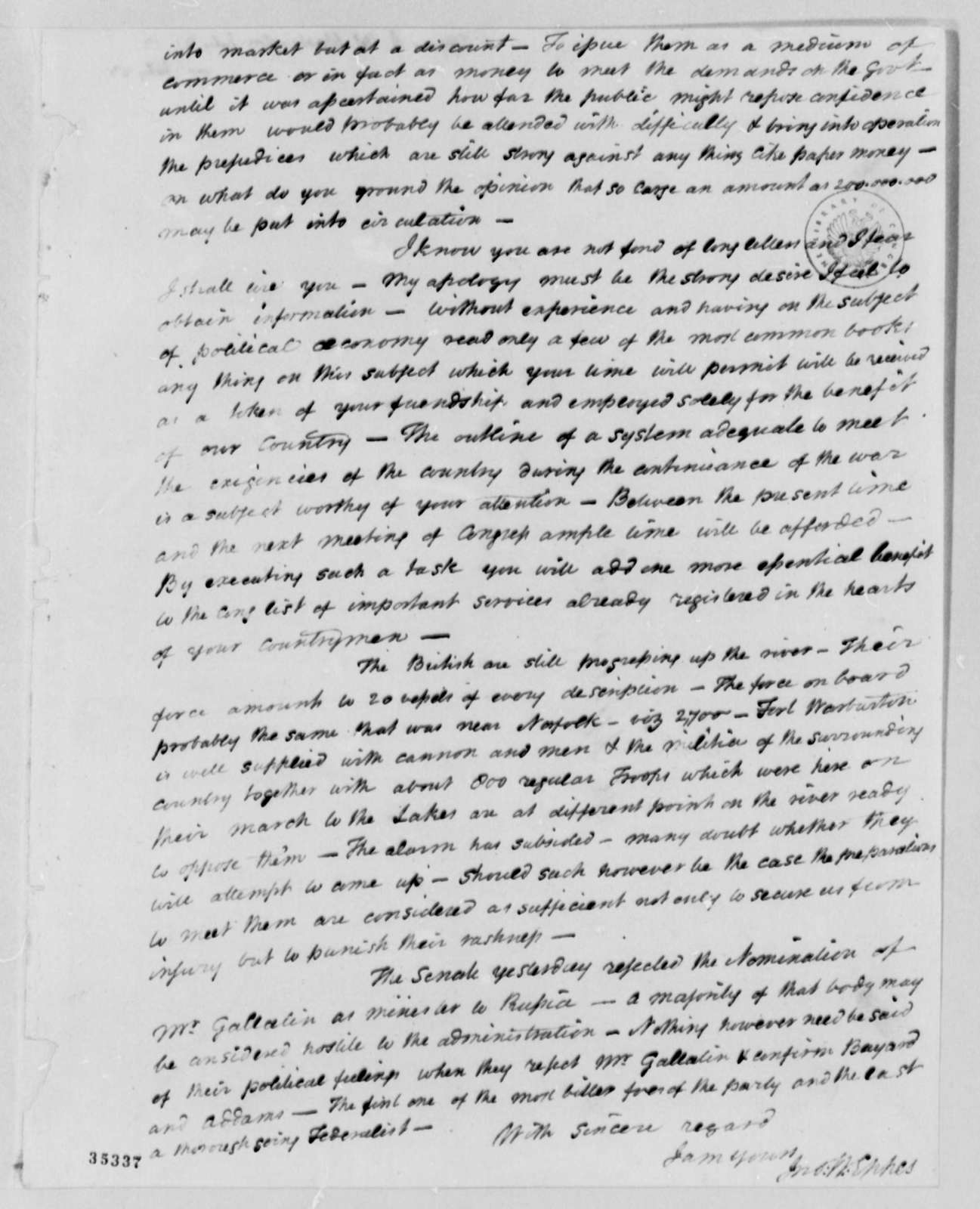John Wayles Eppes to Thomas Jefferson, July 21, 1813