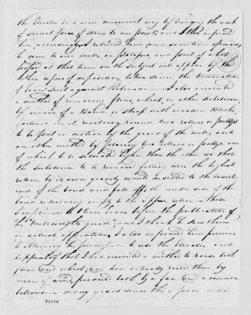 Jonathan Ellicott to Thomas Worthington, August 28, 1813