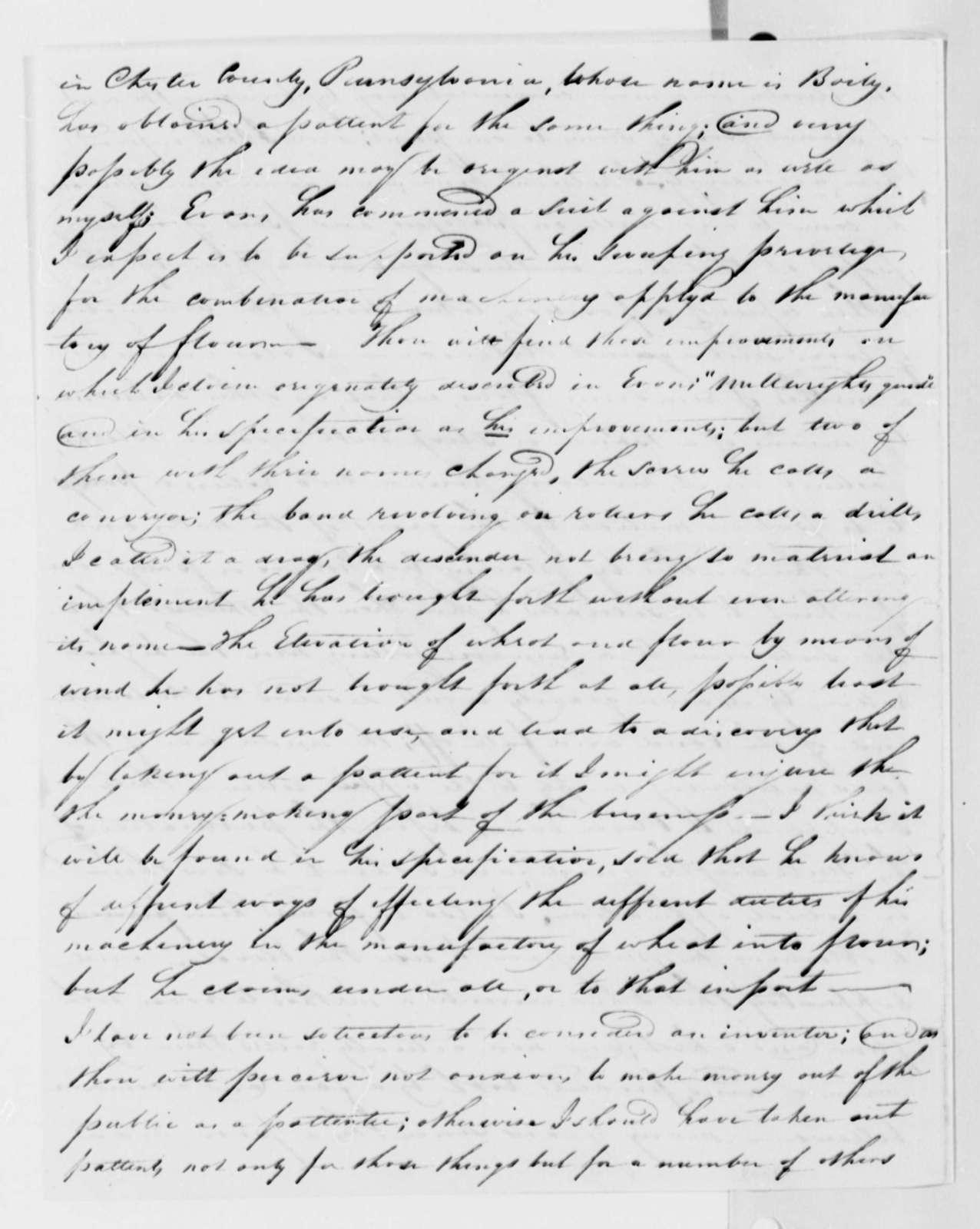 Jonathan Ellicott to Thomas Worthington, August 28, 1813