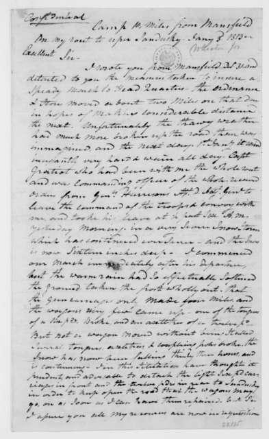 Joseph Wheaton to James Madison, January 3, 1813.