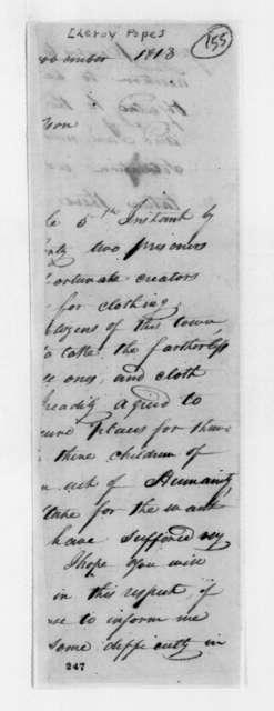 Leroy Pope to Andrew Jackson