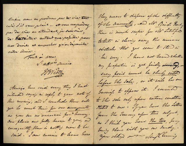 Letter from Viotti to Muzio Clementi, 20 January 1813